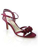 Tatum fuschia rose front wedding shoes