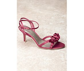 Tatum rose coral wedding shoes