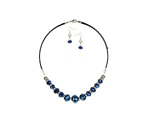 Graduated facet bead jewellery multipack