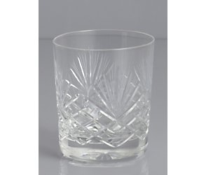 Majestic crystal old fashioned tumbler