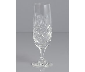 Majestic crystal champagne flute