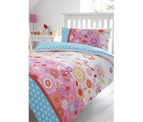 Ella floral single bedding set