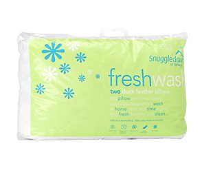 Freshwash pair of natural pillows