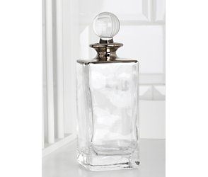 Lille glass large perfume bottle