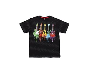 Multi guitar t-shirt