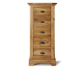 Toulouse tallboy 5 chest of  drawers