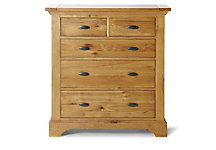 Toulouse 3+2 chest of drawers
