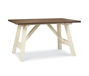 Coniston two tone 4 seater dining table