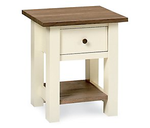 Coniston two tone lamp table