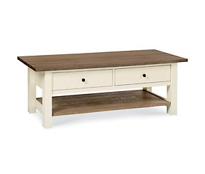 Coniston two tone coffee table