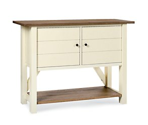 Coniston two tone narrow sideboard