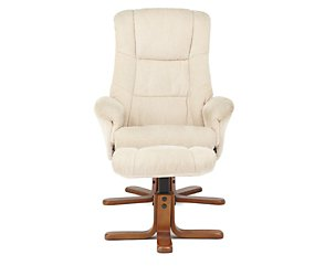 Burford Recliner Chair And Footstool