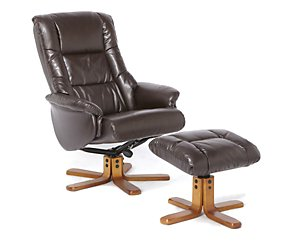 Brampton Recliner Chair And Footstool
