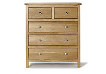 Salisbury 3+2 chest of drawers