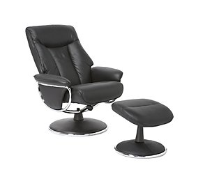 Geneva Recliner Chair And Footstool