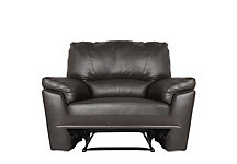 Santiago manual recliner armchair leather
