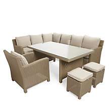 Valencia corner dining set with chair