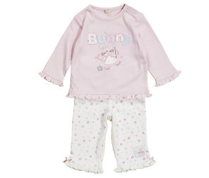 bhs Fairy and bunny embroidered set