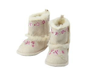 bhs Embroidered butterfly boot