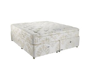 Save on this Relyon Pillow Silk Deluxe Four Drawer Divan Set