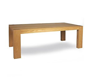 Leaf dining table 200 x 100cms oak