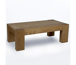 Leaf coffee table oak