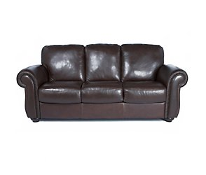 Sienna 3 Seater Leather Sofa