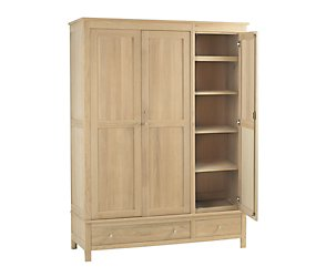 Save on this Nimbus Triple Wardrobe With Drawers