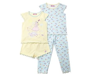2 pack picnic time mix pyjama set