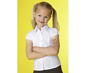 Junior girls short sleeved blouse