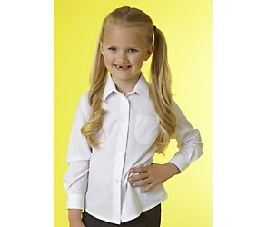 Unbranded 2 pack junior girls long sleeved blouse
