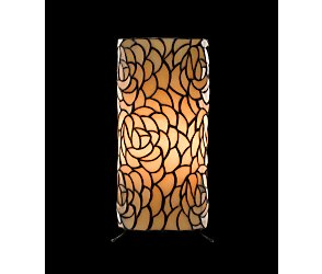 rose cylinder table lamp