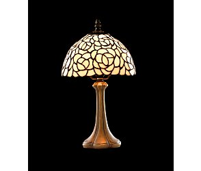 rose dome table lamp