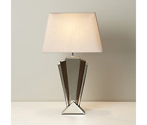Mirror deco table lamp