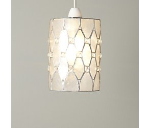 Crystal cut out easyfit ceiling light