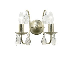Champagne almond wall light