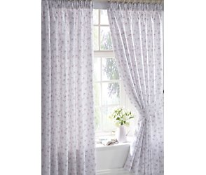 Bhs Josie Pencil Pleat Curtains Inch Reverse Print Customer